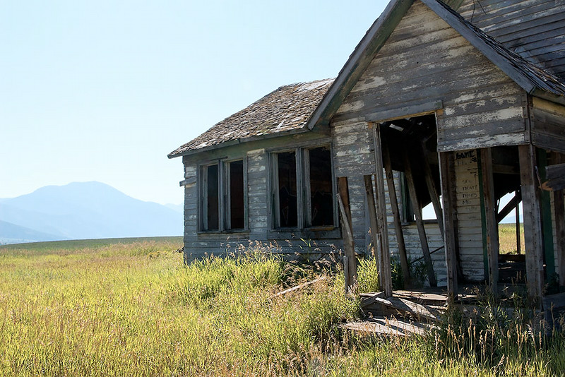 Passings – Abandoned farm house, Idaho<br /> ©2014 Peter Aldrich