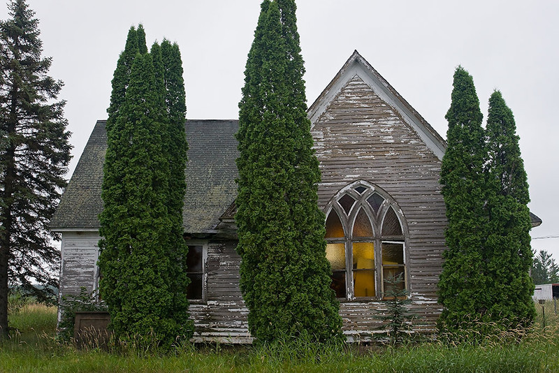 Passings – Abandoned Minnesota church<br /> ©2012 Peter Aldrich