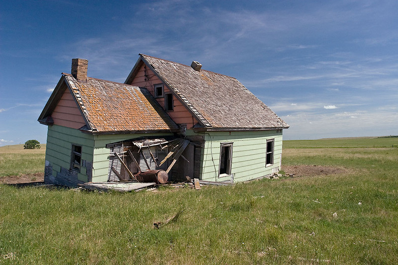 Passings – Abandoned South Dakota farmhouse <br /> ©2009 Peter Aldrich