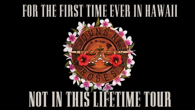 Guns N' Roses - Hawaii