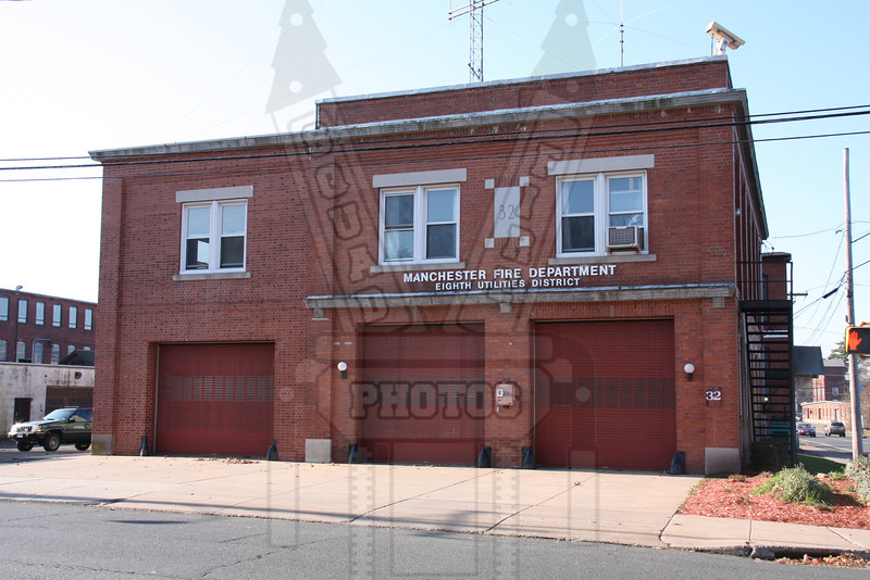 Former Fire Headquarters of the 8th District FD (Manchester,Ct)