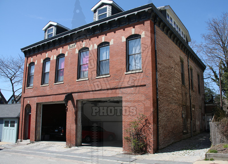 Former Newport, RI firehouse. I was told that this station had an engine and ladder run out of it until the early 1980's
