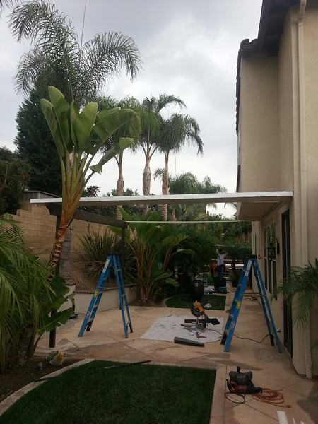 Patio Cover Installation