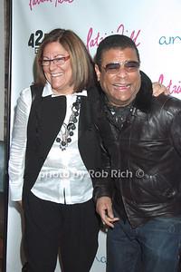 Fern Mallis, George Wayne  photo by Rob Rich © 2009 robwayne1@aol.com 516-676-3939