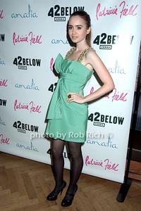 Lily Collins  photo by Rob Rich © 2009 robwayne1@aol.com 516-676-3939