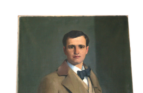 Hugh McCulloch (March 9, 1869 - March 27, 1902) was an American poet. Born in Fort Wayne, Indiana on March 2, 1869, he attended Harvard University and served as an English assistant there from 1892 to 1894.  Oil painted by Patrick Henry Bruce
