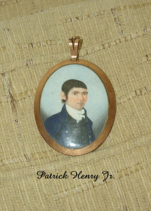 "Patrick, Henry Jr. born 15 Aug 1783 at ""Leatherwood,"" Henry Co., VA, died  22 Sept 1804 at age 21 at Union Hill, Nelson Co., VA, where he is interred; married 9 Feb 1804 Elvira Cabell of ""Union Hill"", born 10 Sept 1783, died 22 Oct. 1858 in Richmond, VA.  Patrick Jr. inherited half of ""Long Island,"" Campbell Co., VA; one daughter, Elvira Ann Patrick, was born after his death. Ten years later the widow Elvira married James Bruce who became first ""agriculture"" millionaire in America.  At his death, he was the third wealthiest man in America.  He has also been called the father of the chain store concept since he owned a number of business all with the same name."