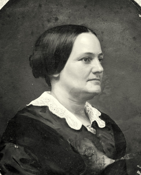 Susan Man McCulloch, wife of Hugh McCulloch who was Secretary of the Treasury under Lincoln, Johnson, and later Arthur.  Before that he was selected by Salmon P. Chase to be the first Comptroller of the Currency.