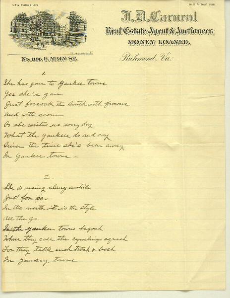 Poem #2 page 1