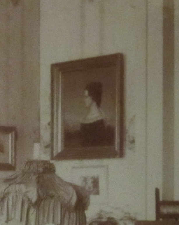Portrait in Berry  Hill LR of Mary Anne Alexander now in our dinning room