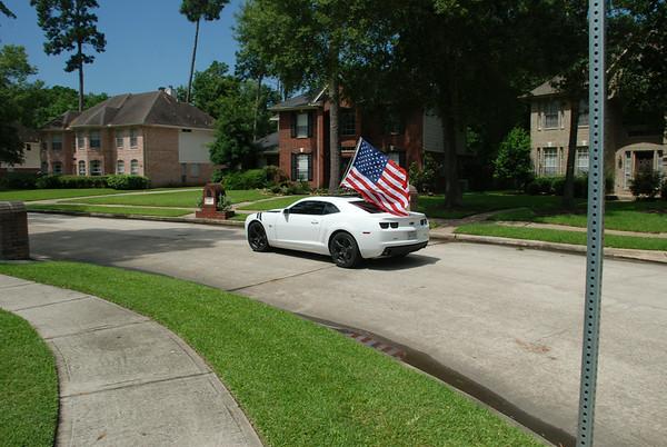 Patriotic Camaro