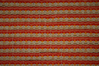 Campbell's soup tins, Andy Warhol