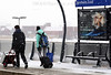 ARNHEM, NETHERLANDS : People walking at Arnhem Zuid station on February 3, 2012 in Anhem Zuid, Netherlands . The cold front sweeping over the country has affected regions, Schools have closed in several cities, while transport has been affected with train cancellations and road closures. / Winter in Arnheim. Passagiere im Schneetreiben. © Paulo Amorim/IMAGOpress.com