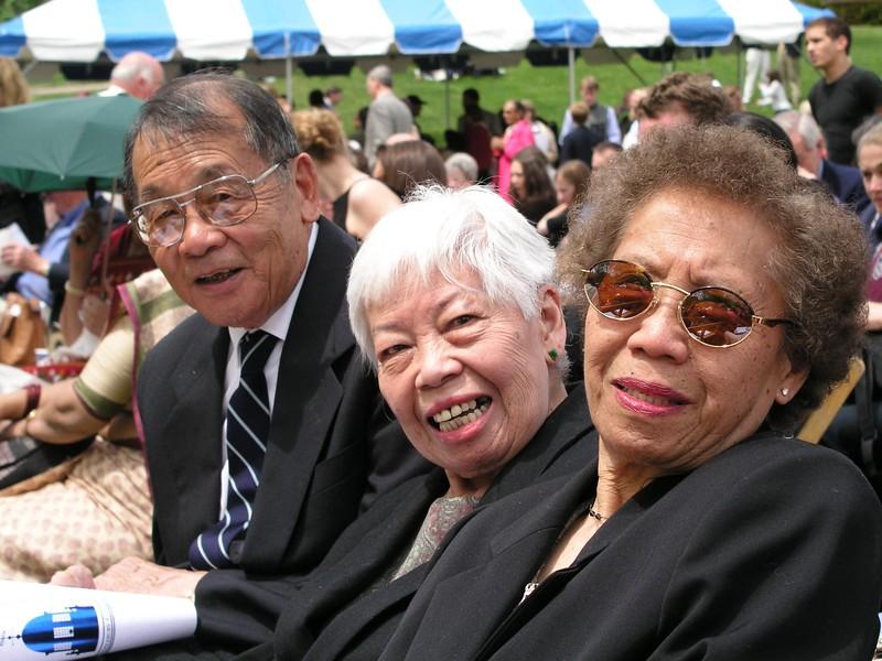 Gung Gung, Mom, and Auntie Ann - Nick's Middlebury Graduation