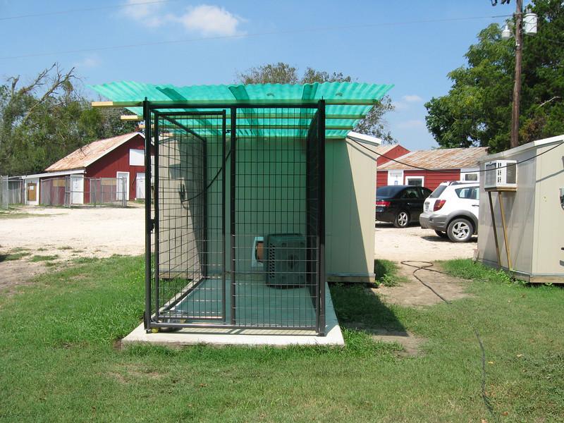 puppy kennels post-quarantine