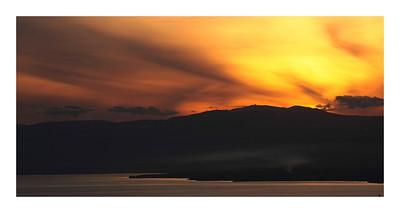 Lac Léman et le Jura