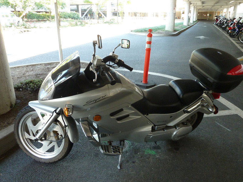 qlink sojero scooter/motorcycle, which doesn't seem to exist on the interwebs.