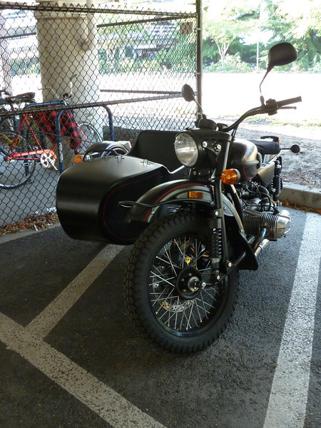 not just a Ural, but a PINSTRIPED Ural.