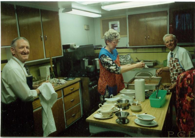 Mac McKeen, Rita and Stanley Brown late 1990s