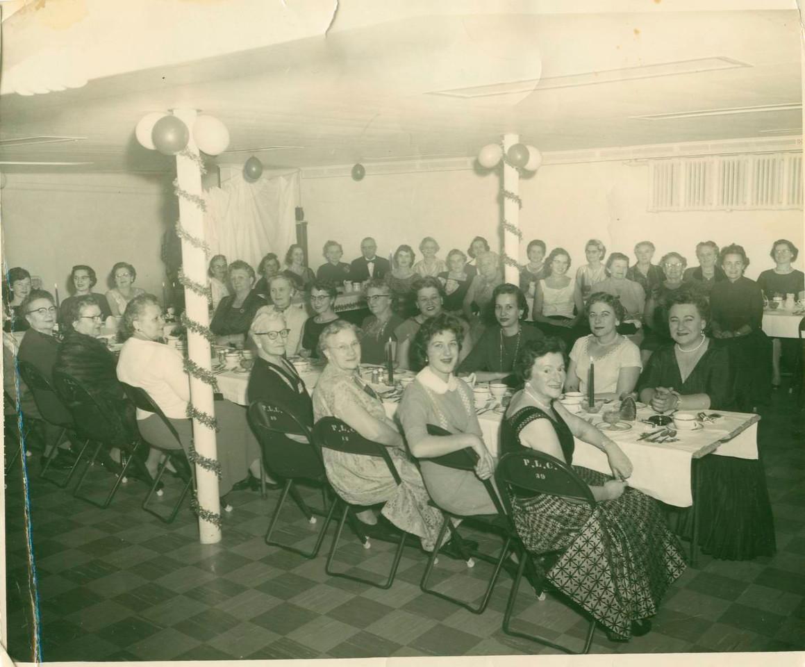 Ladies Guild party 1957