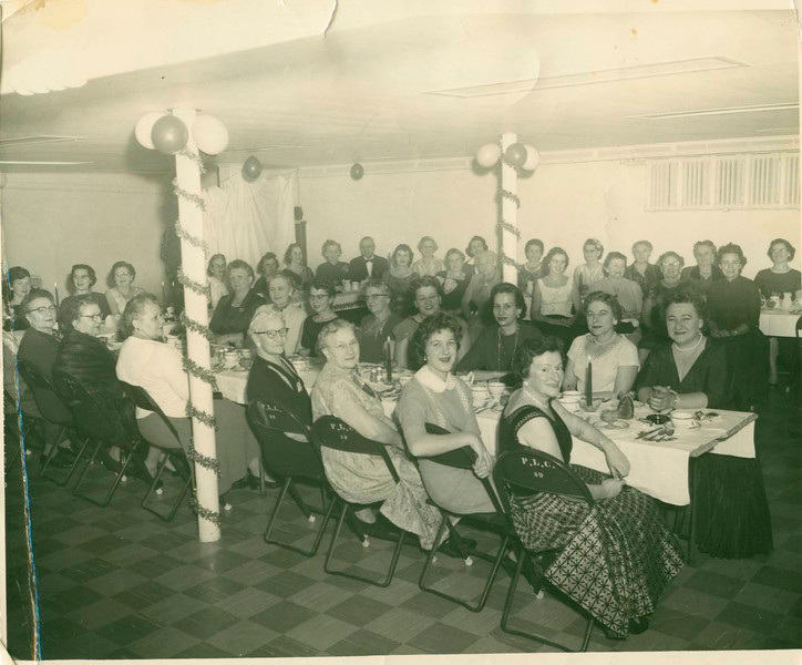 Ladies Guild party 1957