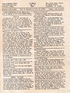 1959 Sunday Bulletin (1)