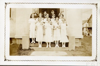 1935 Confirmation Class