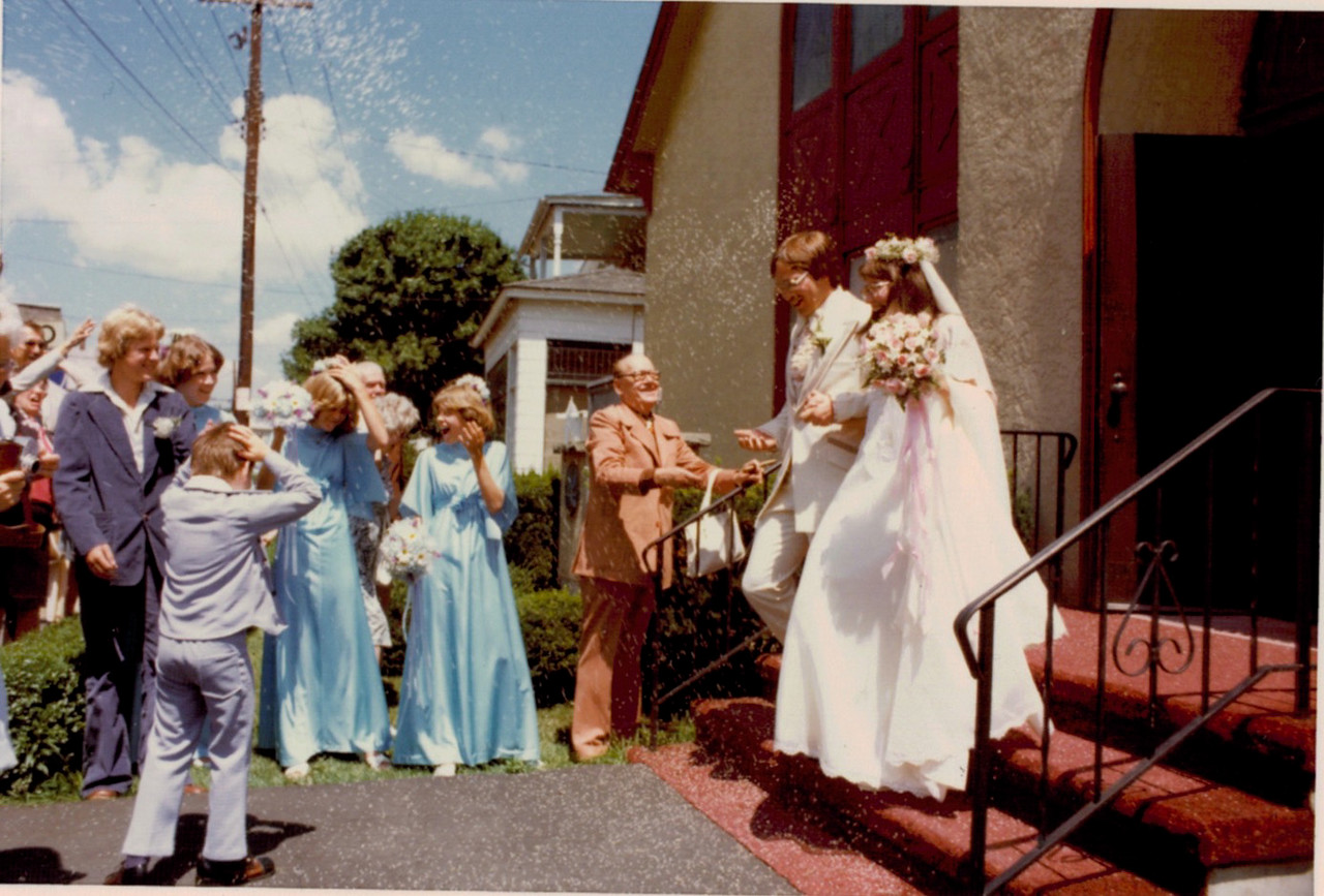 Chuck and Marilyn Mercer wedding