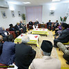 Ref 005:   Hadhrat Khalifatul Masih V and some of the special guests attending the Peace Conference including MPs and Mayor of London Boris Johnson