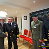 Ref 013:   Hudhur meeting some senior officials of the Army and Navy who attended the Peace Symposium