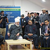 Ref 022:   Hadhrat Khalifatul Masih V with members of the Urdu speaking press.