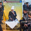 PIC REF: Peace 3-1535<br /> After the speeches and dinner, a meeting with the English Press was held where His Holiness answered a number of questions from journalists from all types of media.