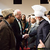 After the keynote address and dinner, guests were given the opportunity to meet His Holiness.