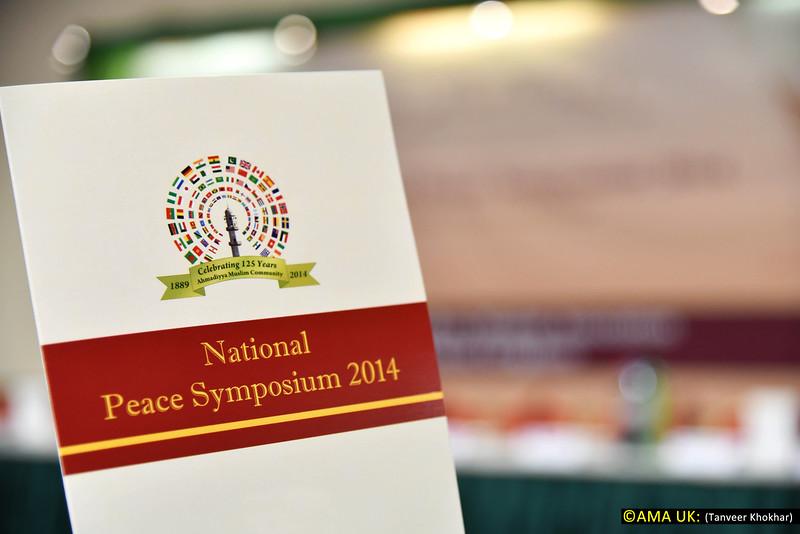 Peace Symposium 2014