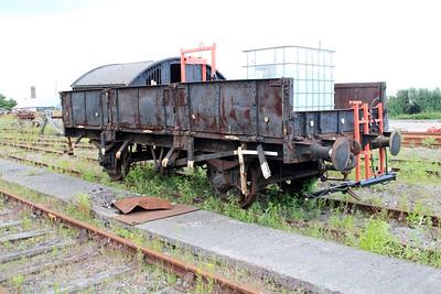 DB988443 20t Ballast Open Grampus sen at Barry Tourist Railway    14/06/14