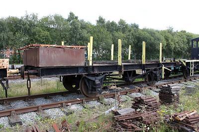 LNER Flat FB228 Rowsley  30/07/11