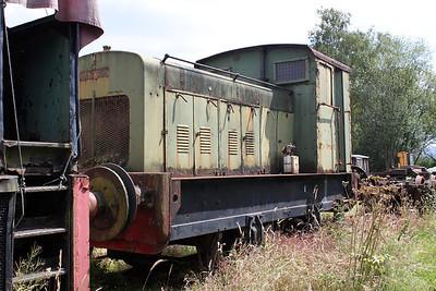 Ruston & Hornsby 0-4-0DM 412431 Peak Rail 30/07/11.