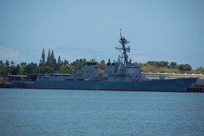 modern destroyer, the USS Preble