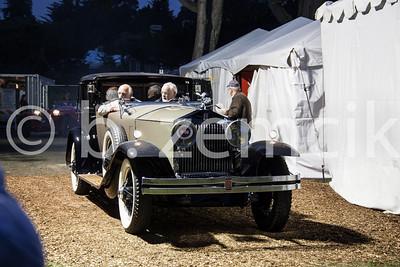 S184PM 1928 Rolls-Royce Phantom I Brewster Riviera Town Car