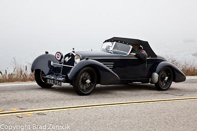 1934 Alpha Romeo 8C 2300 Spider