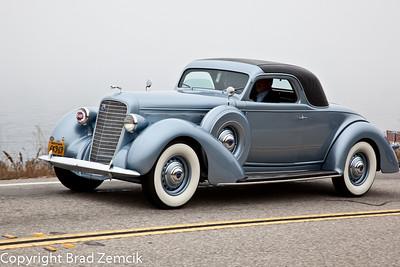 1936 Lincoln K LeBaron Coupe
