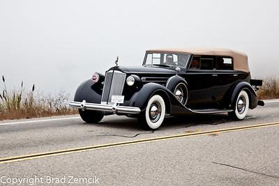 1937 Packard 1507 Convertible Sedan