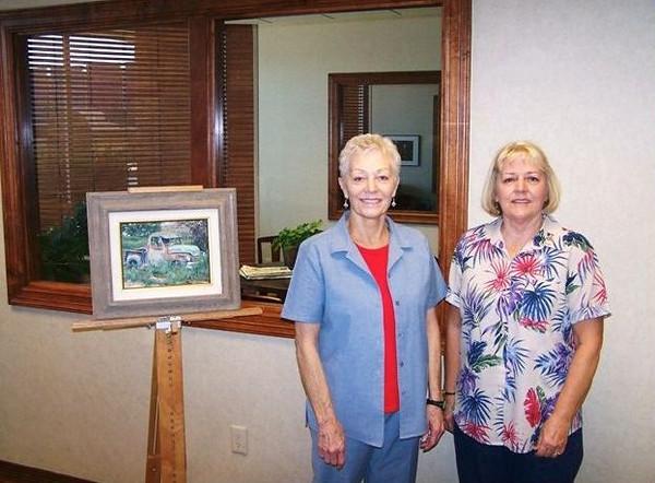 Peg Davis, Book Signing, First State Bank, Abernathy July 3rd 2009