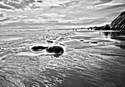Newgale beach, low tide