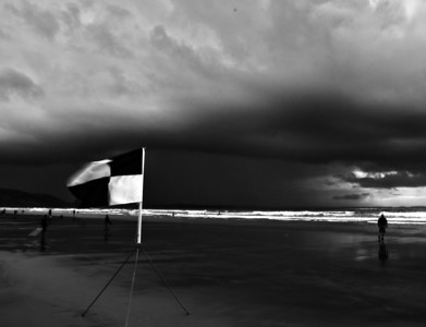 Windy at Newgale