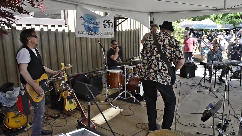 Jim Foster with jam band - Smuggler's Coast