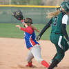 Pendleton Heights High School defeated Elwood High School in the Madison County softball tournament championship game Saturday, April 13, 2013. Photo by Richard Sitler