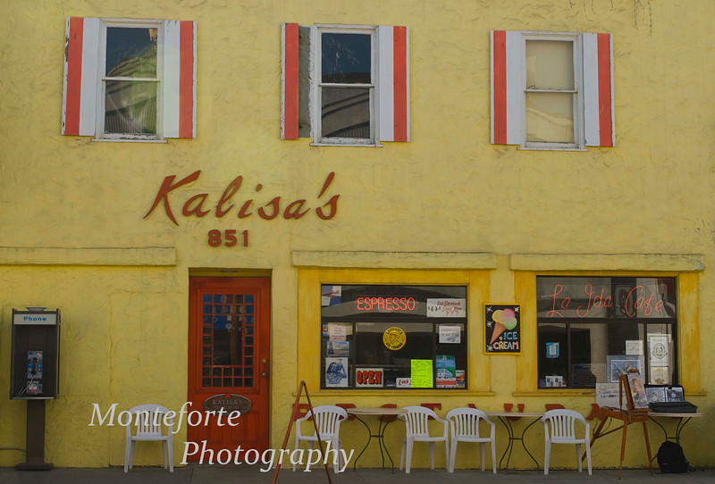 Kalisa's on Cannery Row in Monterey California which is no longer there.