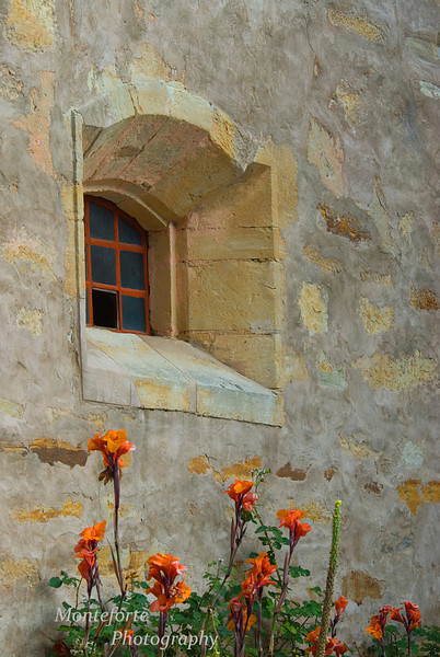 Mission San Carlos window, Carmel Ca