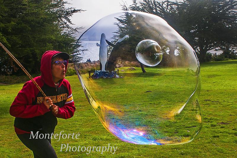 Big bubble happy